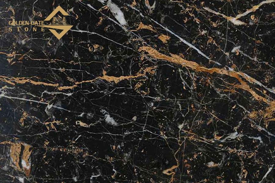 Golden Black Marble Stone